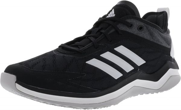 best service 08f1e 08b03 Adidas Men s Speed Trainer 4 Core Black   Crystal White Carbon Ankle ...