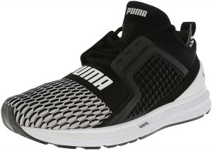 0ba08f3a9580 Puma Men s Ignite Limitless Black   WHite ankle-High Basketball Shoe - 9M