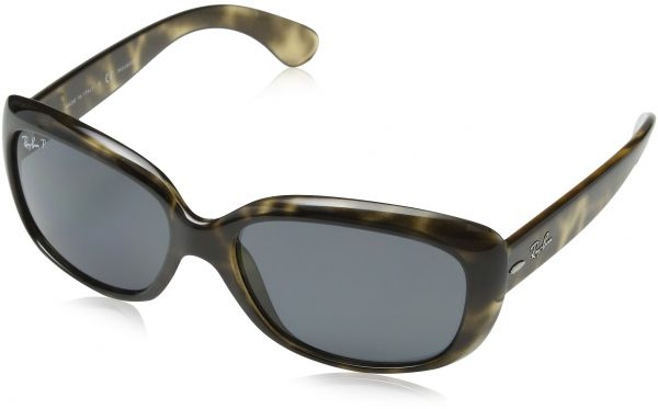 d727e9511f Ray-Ban Women s Jackie Ohh Polarized Rectangular Sunglasses
