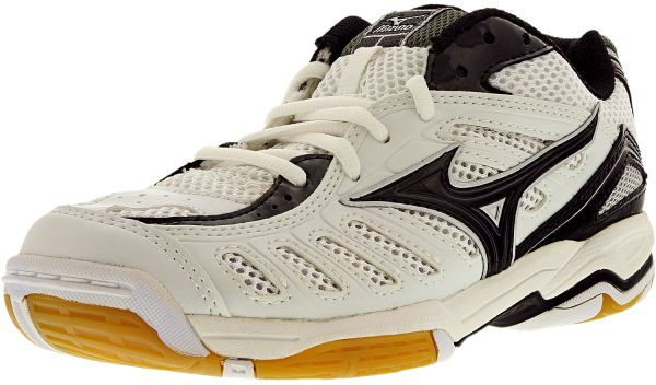 00f79fa82245 Mizuno Women s Wave Rally 4 White Black Ankle-High Running Shoe - 6M ...