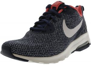 6dc9ece6c809 Nike Women s Air Max Motion Lw Navy   Vast Grey - Sea Coral Ankle-High Running  Shoe 6.5M
