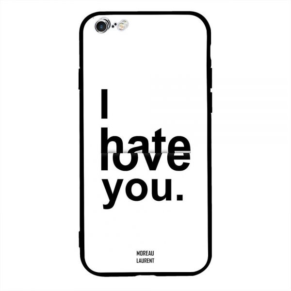 26186da4a66 Apple iPhone 6s Plus Case Cover I Hate   Love You