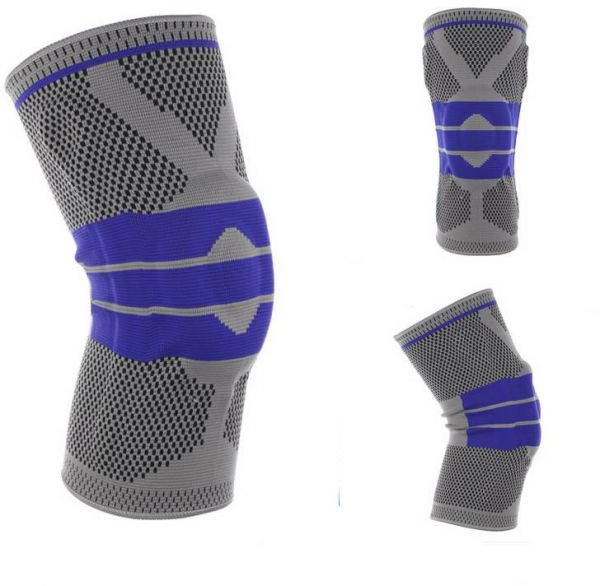 Basketball Support Silicon Padded Knee Pads Support Brace Meniscus