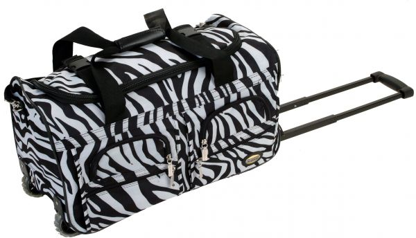 1cbe08b3e9 Rockland Luggage 22 Inch Rolling Duffle Bag