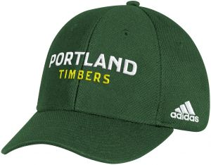 online retailer 0911e b22bd adidas MLS Portland Timbers Adult Men Wordmark Mesh Structured Adjustable  Hat, One Size, Green