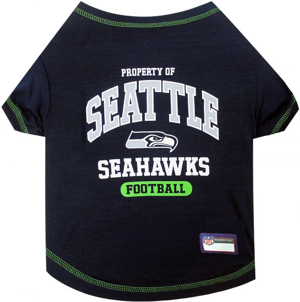 Pets First NFL SEATTLE SEAHAWKS Dog T-Shirt 177df5c47