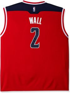 buy popular e4cfb 0225a NBA Men's Washington Wizards John Wall Replica Player Home Jersey,  3X-Large, White