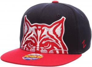 buy online d72d3 2b49e ... coupon for zephyr ncaa arizona wildcats youth boys peek snapback hat  navy red adjustable c6b52 82179