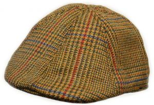 b582df8ec90 Crown Cap Scottish Tweed 6 Panel Duckbill Ivy Cap
