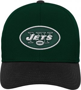0a96d4c99 NFL by Outerstuff NFL New York Jets Youth Boys Velocity Structured Snap Hat  Hunter Green