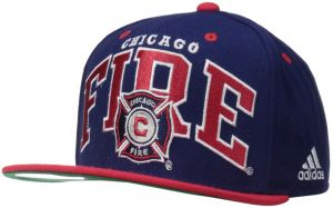 2c5763bd75f adidas MLS Chicago Fire Men s Name Two Tone Flat Brim Snapback Hat