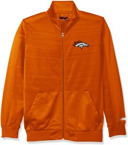G-III Sports NFL Denver Broncos Men s Progression Full Zip Track Jacket 259e25e7d