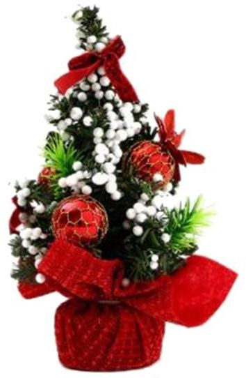 20 Cm Mini Christmas Decoration Tree Desktop Accessories Gifts For