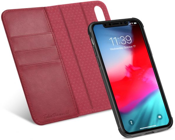 low priced 809ba 14069 iPhone Xs Case, iPhone Xs Detachable Case, TUCCH Credit Card Slots and  Magnetic Closure Leather Flip Book Wallet Case compatible with iPhone Xs ...