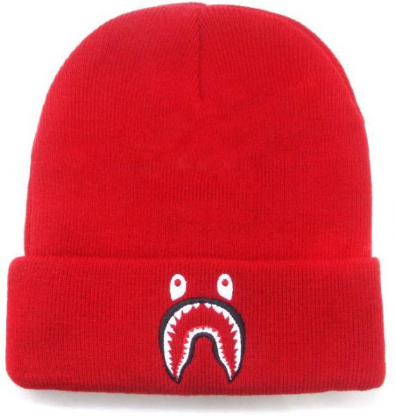 Bape Shark Beanie   Bobble Hat For Unisex  49b81293b71
