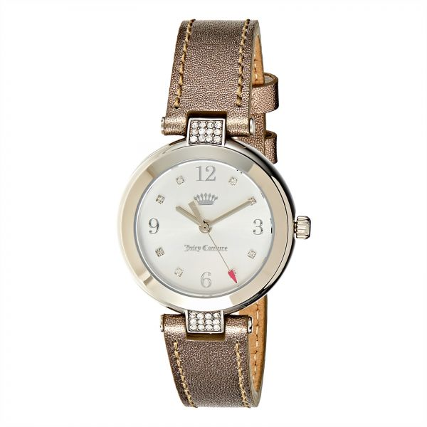 7125d65a0868 Juicy Couture Dress Watch For Women Analog Leather - 1901638