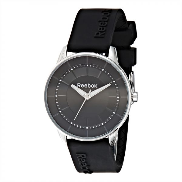 3a519fae93c7 Reebok Women s Black Dial Silicone Band Watch - RF-KaL-L2-S1IB-B1. by Reebok