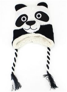 8b38278ac63 Baby Winter Knitted Hat Warm Beanies Hat Cute Animal Cartoon Hat for Kids  Baby Boys Girls 1-2 Years panda
