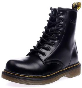 87a427ef5f47 ladies dr marten boots Leather Martin boots Fashion warmth short tube  women s boots Couple leather boots