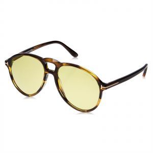 dd085e611918 Tom Ford Aviator Unisex Sunglasses - Yellow Lens