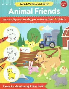 Watch Me Read And Draw Animal Friends الامارات سوق