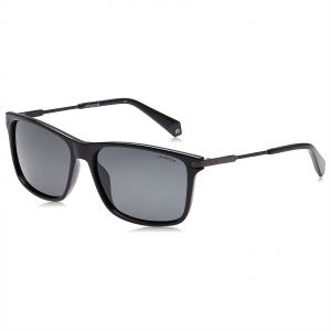 171b09f0fd Polaroid Rectangle Sunglasses for Men - Grey