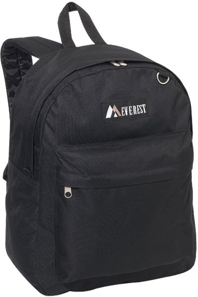9205cd6c823 Everest Luggage Classic Backpack, Black, Large   Souq - UAE