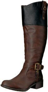 01030bc31c0 Rampage Women s Ivelia Fashion Knee High Casual Riding Boot
