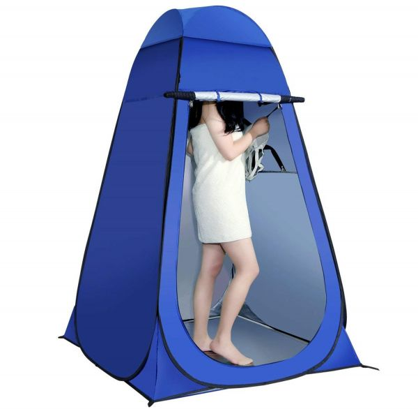 Shower Tent Pop Up Tent Portable Folding Dressing Changing Room Privacy Shelter Tents with Bag for Outdoor C&ing Beach  sc 1 st  Souq.com & Shower Tent Pop Up Tent Portable Folding Dressing Changing Room ...