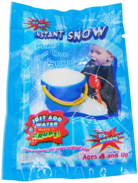Artificial Instant Snow Fluffy Snowflake Super Absorbant Man Made