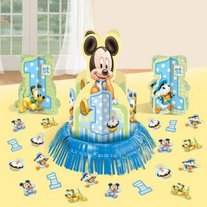 Mickey Mouse 1st Birthday Table Decorating Kit