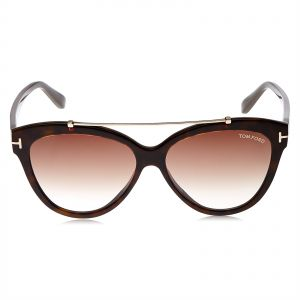 4888a6b56b Tom ford Erika Sunglasses for Women - Brown Lens