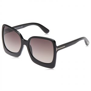 8313a1d24073 Tom Ford Butterfly Unisex Sunglasses - Brown Lens