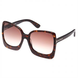 05b1444cb60 Tom Ford Butterfly Unisex Sunglasses - Brown Lens