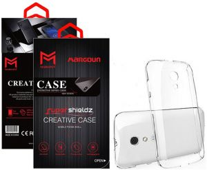 Margoun for BlackBerry Bold 9790 Super Shieldz Case Soft Clear TPU Back Cover Protection Case - Transparent Clear