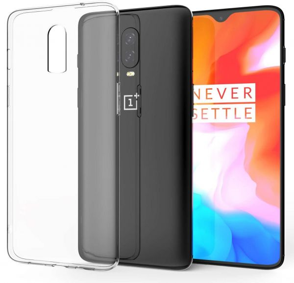 detailed look d5cfb 38f7f OnePlus 6T (1Plus 6T) TPU Silicone Ultra Thin Soft Clear Case Back Cover  For OnePlus 6T