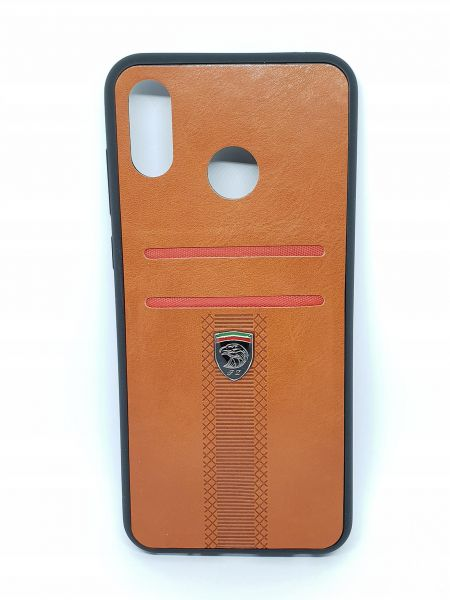 san francisco 29127 83591 Huawei Honor Play Leather Case (Credit Card Slot) - Brown