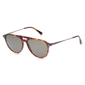 dd07fc3848 Tom Ford Round Unisex Sunglasses - Grey Lens