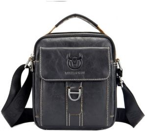 Men Genuine Leather Bags Crossbody Shoulder Bag for Men Casual Travel  Messenger Bag Handbag b1b8023d29