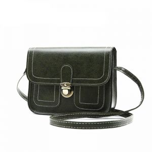 e7dd4579454 Womens Bags Small Square Mobile Phone Shoulder Bag Elegant Design Casual  Vintage Messenger Bag deep green