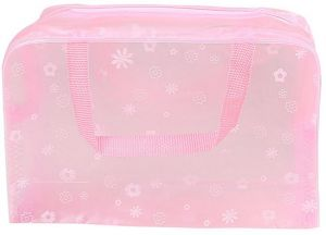 a8e822065 Waterproof Transparent Hand Pouch Bag With Zipper For Cosmetic Wash  Versatile Storage Multi-functional Portable Waterproof PVC Clear Cosmetic  Makeup Bag