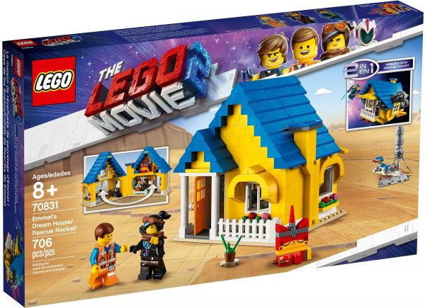 LEGO The LEGO Movie2 -Emmet's Dream House/Rescue Rocket 70831