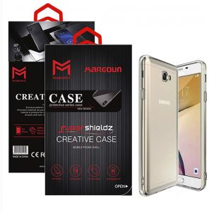Margoun for Samsung Galaxy J7 Prime 2 Case Soft Clear TPU Back Cover Protection Case - Transparent Clear
