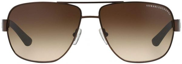 f9ec66a9f53 Armani Exchange Men s Metal Man Sunglass 0AX2012S Aviator Sunglasses ...