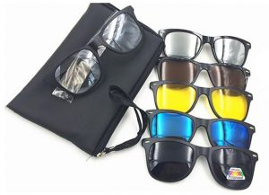81019188173 Buy 5 in 1 magnetic lens swappable sunglasses