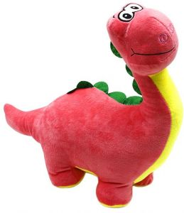 e2797627f0f2 28CM Pink Plush Toy Stuffed Animal Toy Dinosaur Doll Baby Boys Girls Adults  Play Toys