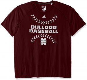 c6fc0abe4 adidas NCAA Mississippi State Bulldogs Men s Big Stitches Climalite  Ultimate Short Sleeve Tee
