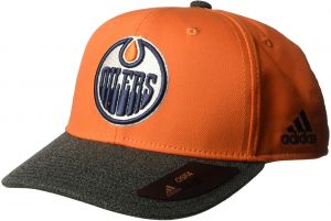 online store ee250 f31ed adidas NHL Edmonton Oilers Structured Adjustable Hat, One Size, White