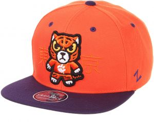 Zephyr NCAA Clemson Tigers Mens Harajukuharajuku Snapback Hat - Tokyodachi  Collection 86d90afd3a0d