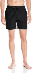 a5976e66f5 Mr. Swim Men's Shimmer Dale Elastic Swim Trunk, Black, XL Extra Large |  Souq - UAE